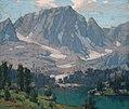 Edgar Alwyn Payne Big Pine Lake Sierra Nevada Temple Crag.jpg