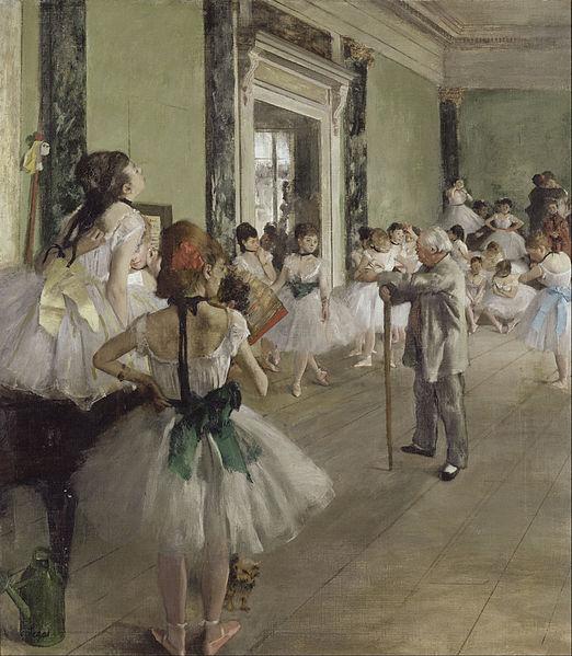 Fichier:Edgar Degas - The Ballet Class - Google Art Project.jpg