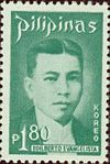 Edilberto Evangelista 1973 stamp of the Philippines.jpg