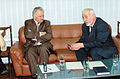"""Editor in chief of """"Trud-Moldova"""" interviews the Prime Minister of Moldova Ion Ciubuc (90-ies famous). (6297671993).jpg"""