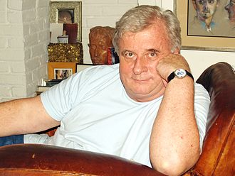 Edmund White - White in his home in New York, October 2007