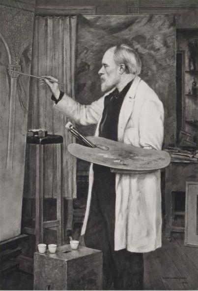 Edward Burne-Jones Photogravure Hollyer