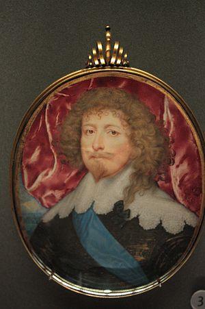 Edward Sackville, 4th Earl of Dorset - Edward Sackville, miniature by John Hoskins, 1635
