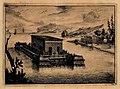 Een drijvend Water-Kasteel van Hachelijke reys-togt van Jacob Jansz de Roy, na Borneo en Atchin, in sijn vlugt van Batavia, derwaards ondernoomen in het jaar 1691.jpg