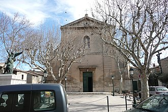 Mouriès - The church of Mouriès