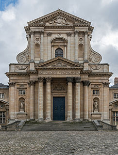 church of the former abbey in Paris, France