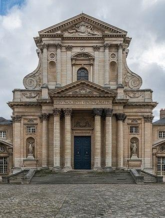 Val-de-Grâce (church) - Main facade