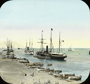 Egypt, Looking out to Sea, Port Said.jpg