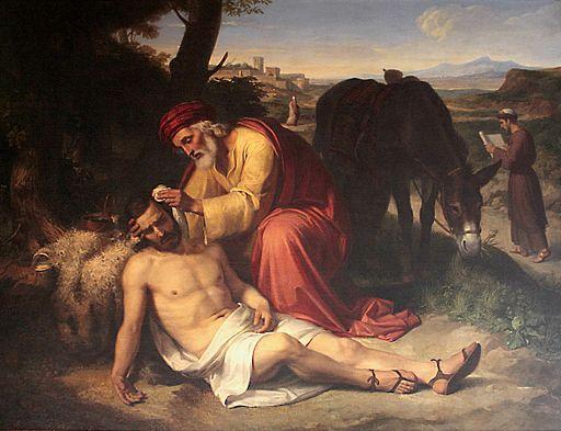 El bon samarità (1838), de Pelegrí Clavé i Roquer