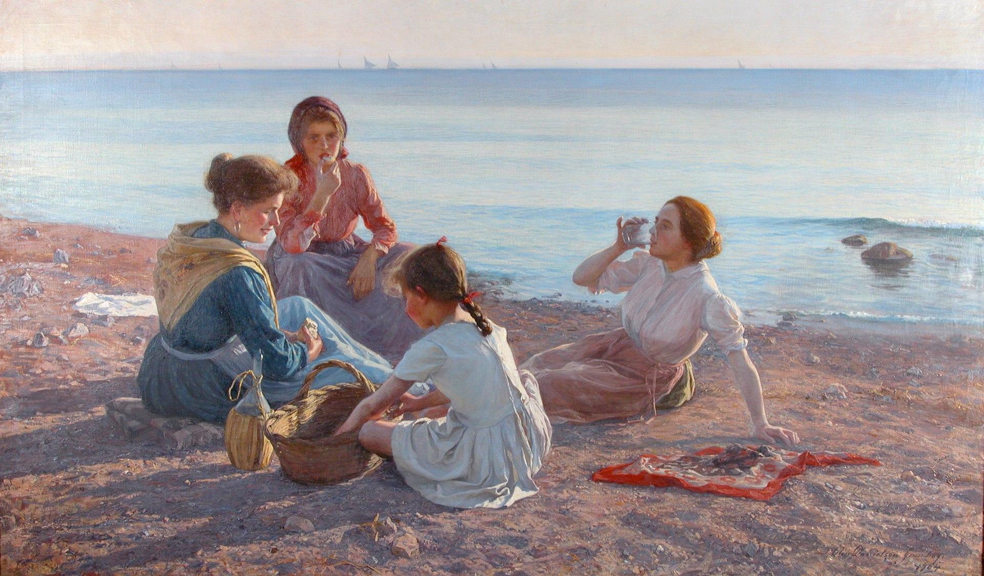 Elin Danielson-Gambogi - La Merenda (1904).jpg