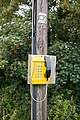 Emergency telephone at Calshot - geograph.org.uk - 517393.jpg