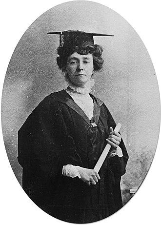 Emily Davison - Davison in 1908