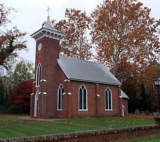 Emmanuel Episcopal Church (Port Conway, Virginia) - Emmanuel Episcopal Church, October 2012