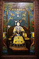 Empress Dowager Cixi by Katherine A. Carl, view 2, China, 1903 AD, oil on canvas, camphor wood frame - Peabody Essex Museum - DSC08060.jpg