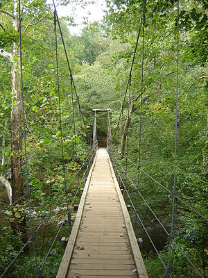 Eno River State Park - Eno Park Footbridge