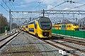 Enschede aankomst IRM 9581 als trein 701735 uit Apeldoorn (17214468711).jpg