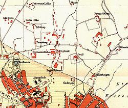 ensjø kart Ensjø – Wikipedia