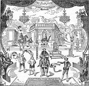 Théâtre de la Gaîté (boulevard du Temple) - An entr'acte at Nicolet's theatre