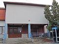 Entrance of Cultury house in Číhalín, Třebíč District.JPG