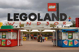 Legoland Windsor Resort Lego theme park in Windsor, Berkshire, England
