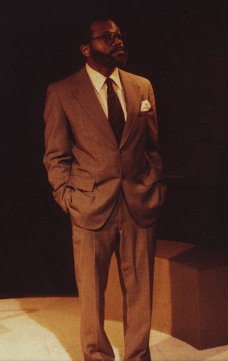 Equus (play) - Charles S. Dutton as Dysart in Equus, as directed by Brad Mays in May 1979 in Baltimore