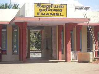 Eraniel railway station Railway station in Tamil Nadu