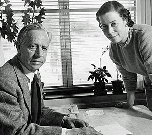 Erik Bryggman - Erik and Carin Bryggman in the 1950s