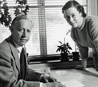 Erik Bryggman - Erik and Carin Bryggman in the 1950s