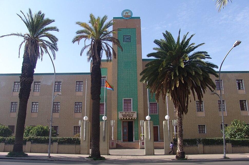 Eritrea - Government building, Asmara