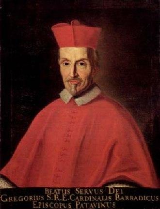 Gregorio Barbarigo - Gregorio Barbarigo by Ermanno Stroiffi