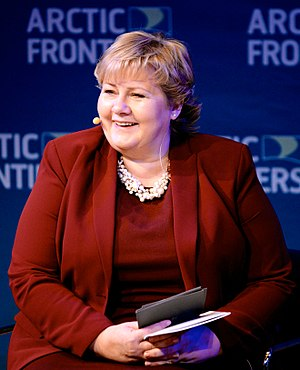 Prime Minister of Norway - Image: Erna Solberg 2015 01 20 001
