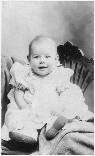 Ernest Hemingway's Baby Picture - NARA - 192665
