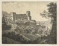 Ernst Fries - Six Views of Heidelberg Castle- Towards Northeast - 2010.280.4 - Cleveland Museum of Art.jpg