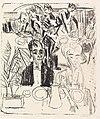 Ernst Ludwig Kirchner Dinertafel-Sanatorium 1916.jpg