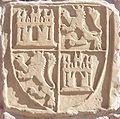 Escudo de Castilla y León en Alhóndiga de Santo Domingo de la Calzada - Siglo XIV.jpg