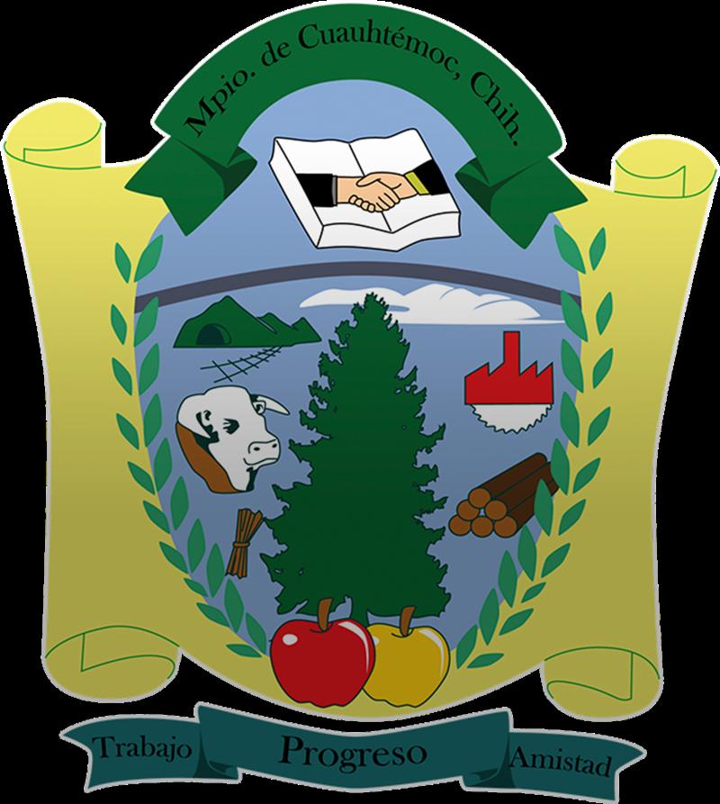 Escudo de Cuauhtémoc Chihuahua.png