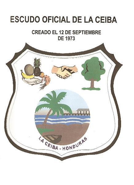 Archivo:Escudo de La Ceiba.jpg