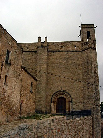 Rubió - Church of Santa Maria de Rubió