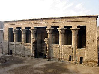 Esna - The Temple of Khnum at Esna