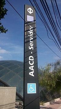 eca53fe6c532 Estação AACD-Servidor – Wikipédia, a enciclopédia livre