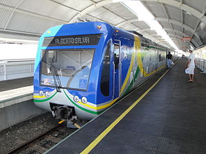 Teresina Metro - Image: Estação Metro de Teresina
