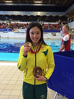 Esther Qin in 2014 Commonwealth Games.jpg