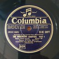 Ethel Smyth cond. 'The Wreckers' Overture, Columbia DX 287 Side 1.jpg