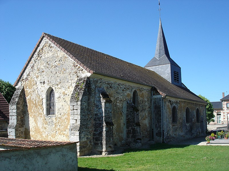Saint Martin Church, Etrechy, Marne, France