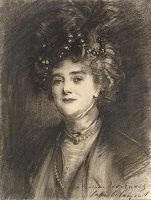 Eugenia Errázuriz - Eugenia Errázuriz (John Singer Sargent)