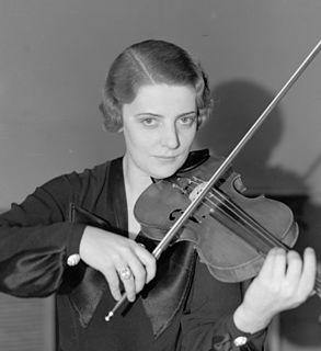 Eugenia Umińska Polish violinist