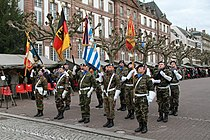 Eurocorps prise d'armes Strasbourg 31 janvier 2013 42.JPG
