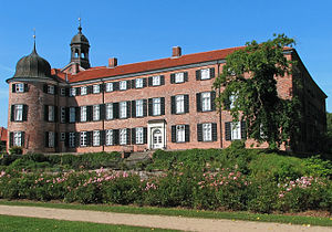 Grand Duchy of Oldenburg - Image: Eutin Schloss 1