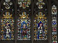 Exeter Cathedral east window detail, Abraham, Moses and Isaiah (36765399792).jpg