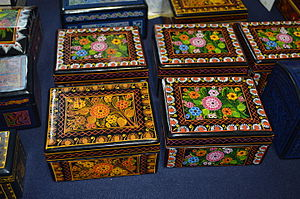 Handcrafts of Guerrero - Lacquered boxes from Olinalá